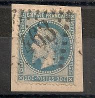 GC 463 BESSEGES Gard - 1863-1870 Napoleone III Con Gli Allori