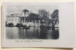 VILLA SUR LE CANAL MAHMOUDIEH NV FP - Alexandrie