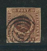 DANEMARK N° 2 Obl. - 1851-63 (Frederik VII)