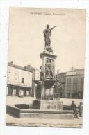 Cp , 87 , LE DORAT , Fontaine Monumentale , Voyagée - Le Dorat