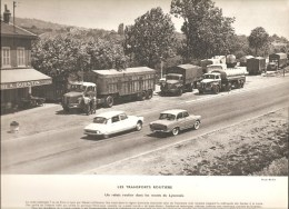 Les Transports Routiers Chez A. QUENTIN Un Relais Sur Les Monts Du Lyonnais () Documentation Photographique De 1962 - Other