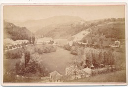 URIAGE, Isère - Photo Cabinet Contrecollée Sur Carton Fort - Photos