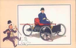 Vierwieler Van Ford 1896 Prent Kuifje Zien En Weten - Kuifje