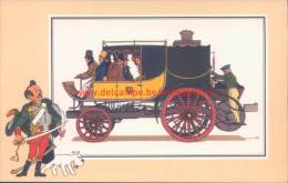 Diligence Kolonel Macerone 1832 Prent Kuifje Zien En Weten - Kuifje