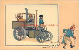 Stoommachine Fourness 1788 Prent Kuifje Zien En Weten - Kuifje