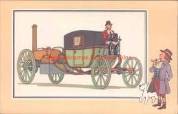 Stoomwagen Symington 1786 Prent Kuifje Zien En Weten - Tintin