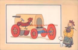Stoomwagen Pater Verbiest 1679 Prent Kuifje Zien En Weten - Tintin