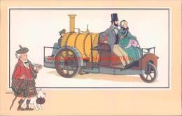 Stoomdriewieler Rickett 1858 Prent Kuifje Zien En Weten - Tintin