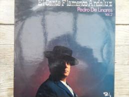 El Cante Flamenco Andaluz - Pedro De Linares Vol.2 - Vinyl Records
