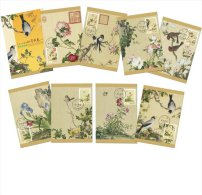 2016 R.O CHINA(Taiwan)- Maximum Cards -Chinese Paintings: Immortal Blossoms Of An Eternal Spring (I)  ( 8 Pcs/set)