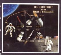 OUGANDA-UGANDA  1999 ESPACE  YVERT N°1739/44  NEUF MNH** - Space