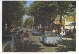 Voitures - Automobiles -  Citroen 2cv  -  Renault Dauphine  -  Boulevard De La République, Chatetaillon, FR  -  CPM - Turismo