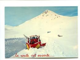 Cp - COL DU LAUTARET (05) - (chasse-neige) - France
