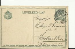 LEVELEZO - LAP   --  1916  --  NAGYKIKINDA - Briefe U. Dokumente