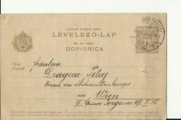 LEVELEZO - LAP   --  1909  --  ZAGREB - Briefe U. Dokumente