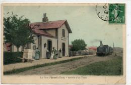 27  INVAL    La Gare Arrivée D'un Train - Altri Comuni