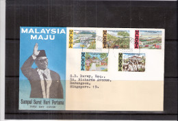 FDC Malaysia - Complete Set (to See) - Malaysia (1964-...)