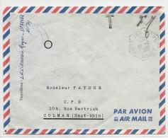 1961 - AFN / ALGERIE - ENVELOPPE FM Du SP 88182 à FORT FLATTERS OASIS - Marcophilie (Lettres)