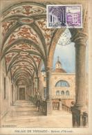 MONACO  RIVIERA CARTE  MAXIMUM ILLUSTRATEUR OBLITERATION MUSEE MONTE CARLO CHEFFER - Monaco