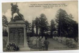 LL , 80 , ABBEVILLE , Cimetière D´Abbeville: Tombes Des Soldats Morts Pour La Patrie 2 Nov. 1915, écrite , Militaria - Abbeville