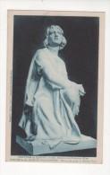 Carte Postale LE CHATEAU DE JEANNE D ARC BEAULIEU LES FONTAINES STATUE JEANNE PRISONNIERE Sculpteur J DECHIN   OISE 60 - Otros Municipios