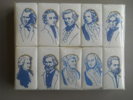 SUCRE - SERIE COMPLETE - LES MUSICIENS CLASSIQUES -  BEGHIN SAY - Sugars