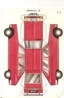 Découpis Banania Renault 16 Des Années 1960. Non Découpé En Bon état - After 1965