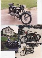 Moto Terrot - Photos Descendante Mme F. Terrot + Diverses Photos Fin Années 80 ... Moto - Vélo - Motor Bikes