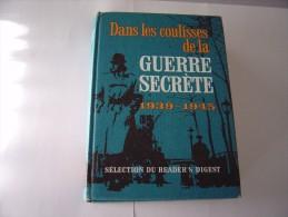 Dans Les Coulisses De La Guerre Secrète 1939/1945 - Libri, Riviste, Fumetti