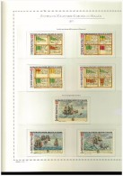 PERIODO COMPLETO NUOVO MNH ** - 1977/1987  SMOM - SOVRANO MILITARE ORDINE DI MALTA - FOGLI MARINI IN OMAGGIO - Colecciones (en álbumes)