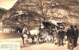 [DC2681] CPA - RRR - OPERE DELL'ABATE PIETRO METASTASIO - ANIMATA CARROZZA CAVALLI - Viaggiata 1915 - Old Postcard - Scrittori