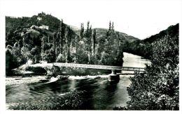N°48851 -cpa Chateauneuf Les Bains -vue Sur La Sioule- - France
