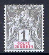 BENIN - N° 20(*) - TYPE GROUPE - Bénin (1892-1894)