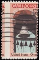 UNITED STATES - Scott #1373-1 California Settlement / Used Stamp - Errors, Freaks & Oddities (EFOs)