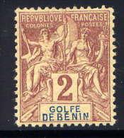 BENIN - N° 21* - TYPE GROUPE - Bénin (1892-1894)