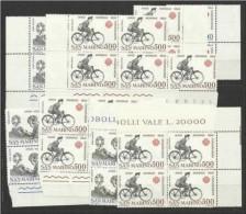 1983 San Marino Saint Marin ANNO MONDIALE COMUNICAZIONI  COMMUNICATIONS 15 Serie MNH** - Post