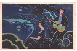 Au Pays Niçois Par Henri PERTUS - Clair De Lune Sur La Baie De Nice - Niza
