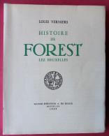 Histoire De Forest Lez Bruxelles EO 1949 Louis Verniers - Cultura