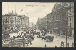 ENGLAND: London - Piccadilly Circus - Piccadilly Circus