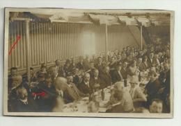 Carte Photo VAILLY SUR AISNE Jour  Inauguration Monument Aux Morts Par Ministre Herriot 1927 Banquet - Non Classés