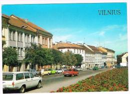 O2590 Vilnius - Pilies Gatve Street - Auto Cars Voitures / Non Viaggiata - Lituania