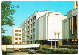 O2591 Vilnius - Administracinis Pastas - The Office Building - Auto Cars Voitures / Non Viaggiata - Lituania