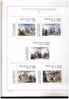 ANNATA COMPLETA NUOVA MNH ** - 2002 SMOM - SOVRANO MILITARE ORDINE DI MALTA - FOGLI MARINI IN OMAGGIO - Timbres