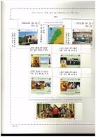 ANNATA COMPLETA NUOVA MNH ** - 2003 SMOM - SOVRANO MILITARE ORDINE DI MALTA - FOGLI MARINI IN OMAGGIO - Stamps