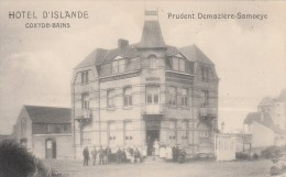 Koksijde   (Coxyde-bains)  ,hotel D'Islande ,Prudent Demazière-Samoeye - Koksijde