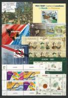 "EUROPA 2007-TEMA ANUAL ""EXPLORADORES / SCOUTS""-COLECCIÓN COMPLETA DE SELLOS + HOJITAS BLOQUE- TEMA QUE EMITEN 62 PAISES - Colecciones"