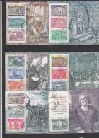 ITALIE - BLOC FEUILLET N° 10 A 15 OBLITERES - COTE : 45 €     ANNEE 1992 - Blocchi & Foglietti