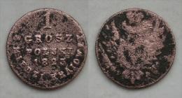 Polen - Russland Alexander I  1 Grosch 1823 IB RARE !      (I171) - Polonia