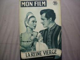 MON FILM N°395 DU 17-3-54 JEAN SIMMONS ET STEWART GRANGER DANS LA REINE VIERGE - Cinema
