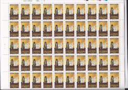 Feuille Complète De 50  Timbres Du N° 3860,  Séparation De L'église Et De L'état. - Feuilles Complètes